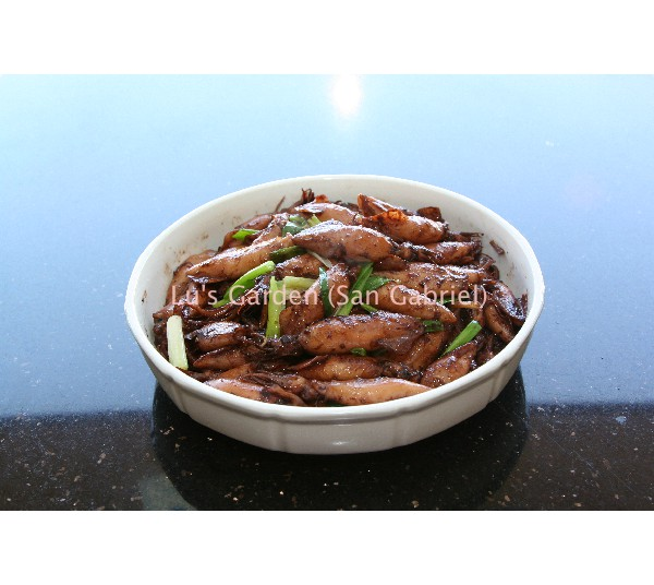 乾煎小卷 Pan Fried Squid